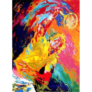 POWER SERVE BY LEROY NEIMAN