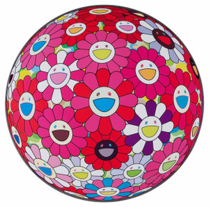 FLOWERBALL TURN RED! (3D) BY TAKASHI MURAKAMI