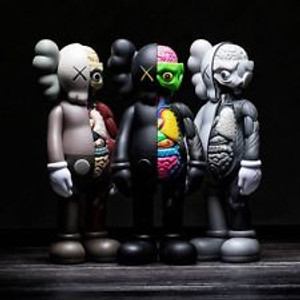 COMPANIONS- FLAYED (SET OF 3) BY KAWS