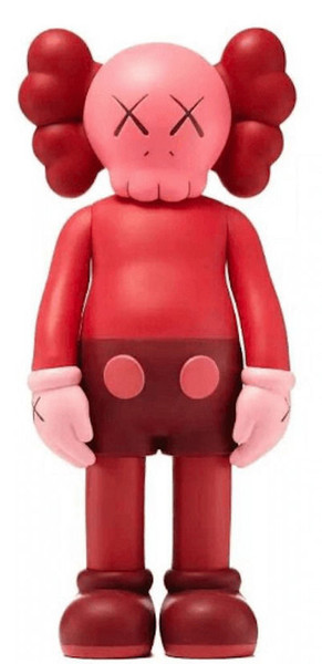 COMPANION - RED BLUSHED BY KAWS