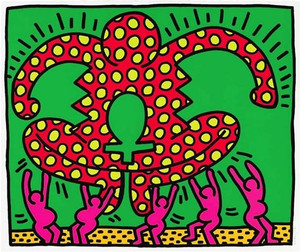 FERTILITY #5 (FROM FERTILITY SUITE) BY KEITH HARING