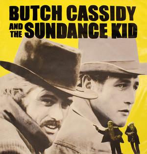 BUTCH & SUNDANCE (YELLOW) BY STEVE KAUFMAN