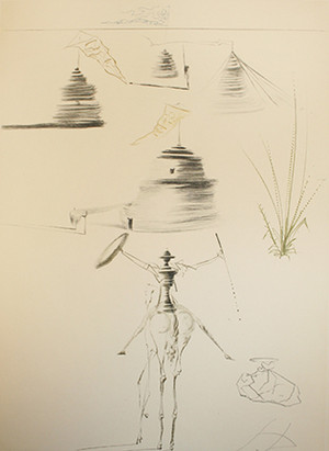 LE CAMP DU ROI MARC BY SALVADOR DALI