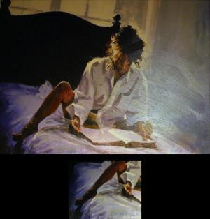 BACKLIGHT TO A GOOD BOOK BY ALDO LUONGO