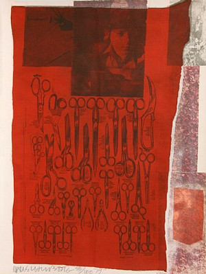 MOST DISTANT VISIBLE PART OF THE SEA BY ROBERT RAUSCHENBERG