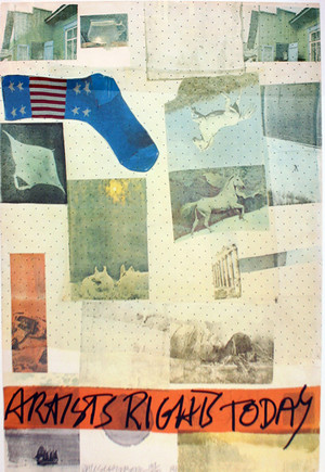 ARTISTS RIGHTS TODAY BY ROBERT RAUSCHENBERG