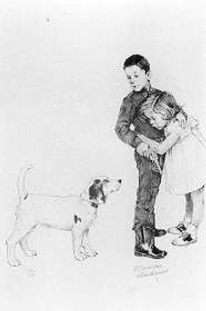SAVE ME BY NORMAN ROCKWELL