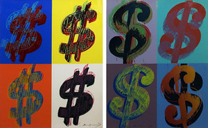 $ (QUANDRANT) FS II.283-284 ( PORTFOLIO OF 2) BY ANDY WARHOL