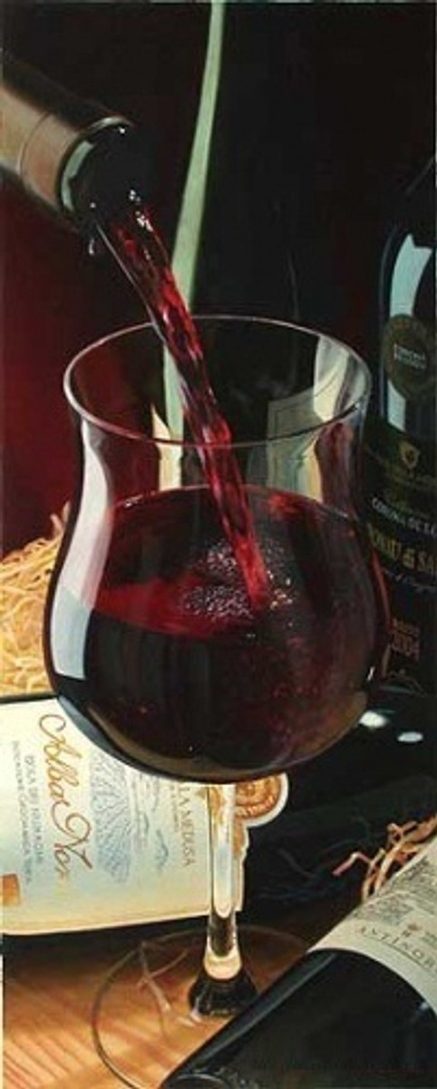 ABBOT RED WINE BY E. DENIS