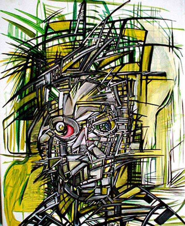BIOMECHANICAL ROBOT III BY JOSPEH IAN BACA - GRUN ART