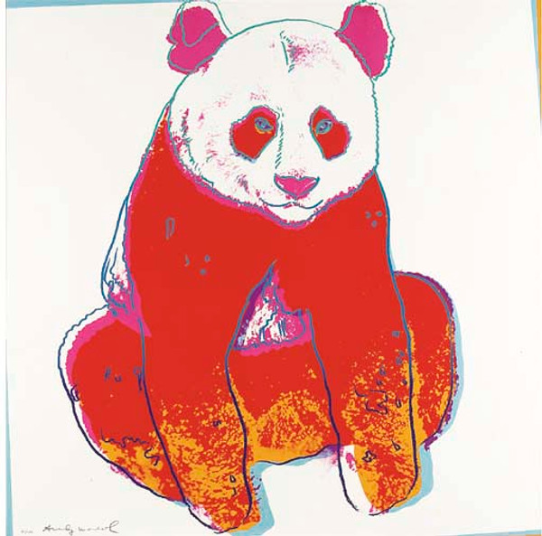 ENDANGERED SPECIES: GIANT PANDA FS II.295 BY ANDY WARHOL