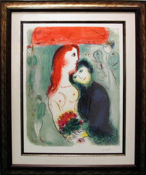 LE MARRIAGE (FROM LE CIRQUE) BY MARC CHAGALL
