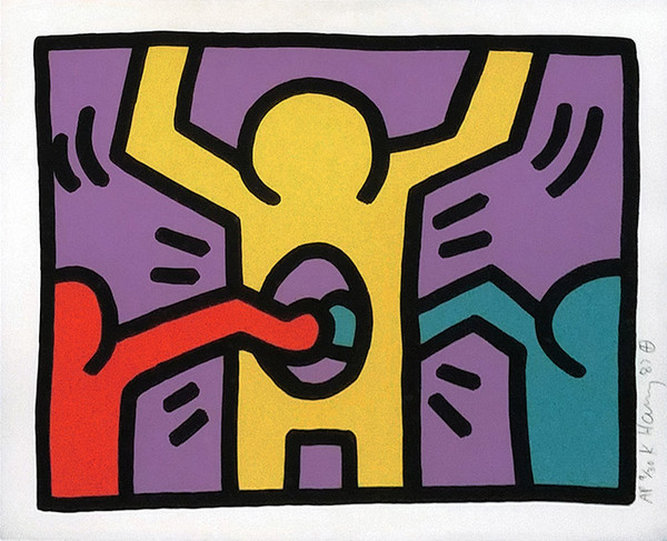 POP SHOP I (1) BY KEITH HARING