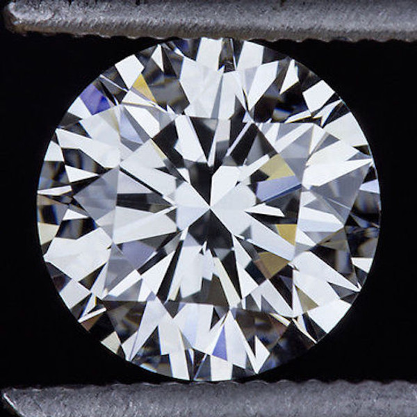 GIA Certified .50 Carat Round Diamond H Color VVS1 Clarity Excellent Investment