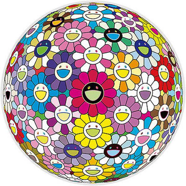 FLOWERBALL MULTICOLOR I BY TAKASHI MURAKAMI