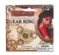 Steampunk Gear Ring