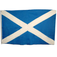 Scotland Flag. 3' x 5' Cloth.