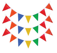 Bunting, Multicoloured 10m (5 cols/35 flags)