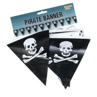 Pirate Bunting. 7m/25 Flags.