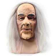Creepy Old Man Mask & Hair.