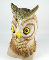 Owl Rubber Overhead Mask.