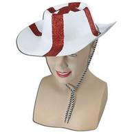 England St George Flock Cowboy Hat.