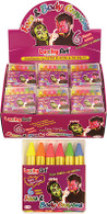 Neon Face Paint Crayons (6 per box)
