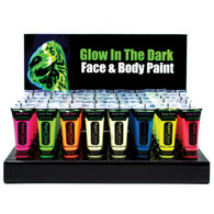 Glow in the Dark Body Paint. Blue 10ml
