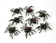 Scary Creatures.  Spiders. (8/Pkt).