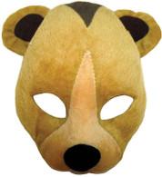 Bear Mask On Headband + Sound.