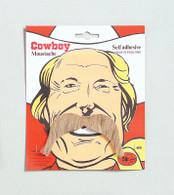 Cowboy Tash. Blonde.