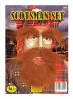 Scotsman Set (Beard, Tash, Eyebrows).