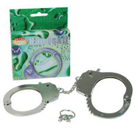 Handcuffs Metal - Boxed.