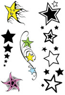 Star Theme Tattoos.