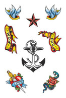 Sailor Theme Tattoos.