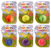 Twisty Worms (Assorted Colours)