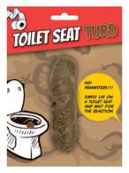 Toilet Seat Turd, Joke/Novelty/Gift