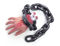 Bloody Hand On Chain