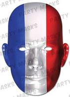 France Flag Card Mask