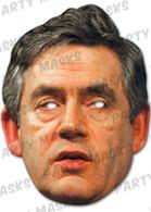 Gordon Brown Celebrity Face Card Mask