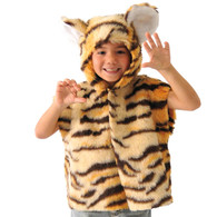 Tiger Fur Tabard, Unisex Age 3-8.