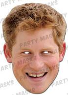 Prince Harry Celebrity Face Card Mask
