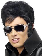 Elvis Sunglasses. Gold.