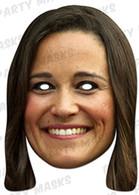 Pippa Middleton Celebrity Face Card Mask