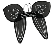 Angel Wings. Adult Black.