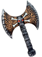 "Viking Skull Axe 13""."