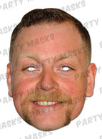 Rufus Hound Celebrity Face Card Mask