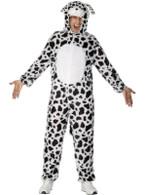 """Dalmatian Costume.  Chest 38""""-40"""", Leg Inseam 32.75"""""""