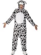 """Dalmatian Costume, Chest 42""""-44"""", Leg Inseam 33"""""""
