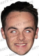 Ant McPartlin Celebrity Face Card Mask